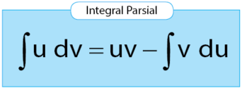rumus integral parsial