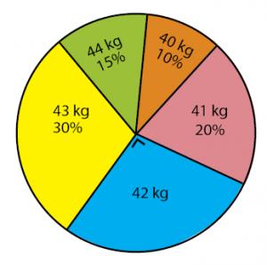 diagram lingkaran dalam persen