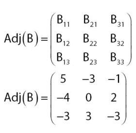 Matriks Adjoin B