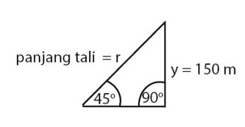 Aplikasi teorema pythagoras