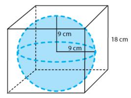 hubungan rumus bola dengan kubus