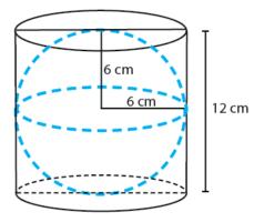 Contoh soal un matematika SMP/MTs Bangun Ruang Sisi Lengkung