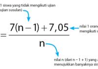 cara mencari rata-rata gabungan