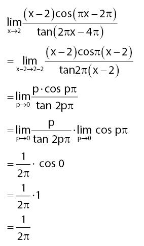 kumpulan soal limit fungsi trigonometri