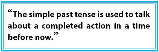 pengertian simple past tense