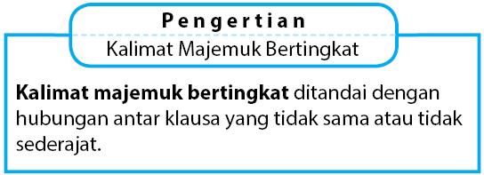 Contoh Kalimat Majemuk Bertingkat Beserta Pola SPOK