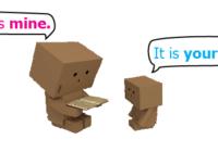 Possessive Pronoun (Kata Ganti Milik)