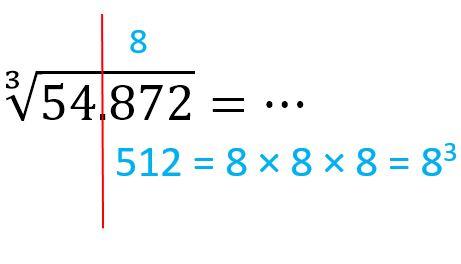 Akar Pangkat Tiga dari 54872