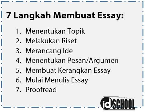 Cara Membuat Essay