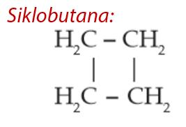 Senyawa Alkana - Siklobutana