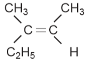 cis-3-metil-2-pentena
