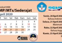 Jadwal UNBK SMP/MTs 2020