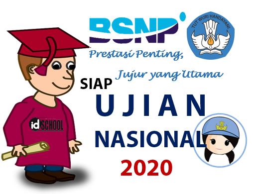 Jadwal Ujian Nasional SMA MA Sederajat 2020
