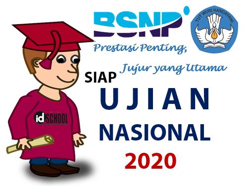 Ujian Nasional 2020 untuk tingkat SMK/MAK/Sederajat
