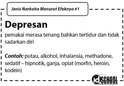 Jenis Narkoba Menurut Efek Depresan
