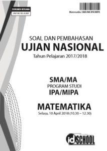 Download Soal dan Pembahasan UN Matematika SMA IPA 2018