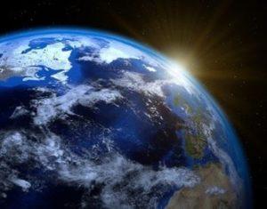 Bukti Bahwa Bumi Bulat dari Foto Satelit