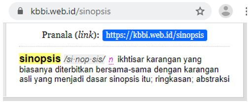Apa Itu Sinopsis