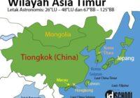 Negara - Negara Asia Timur dan Keterangannya