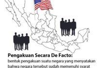 Perbedaan Pengakuan Secara De Facto dan De Jure