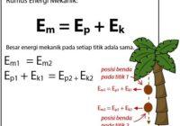Rumus Energi Kinetik dan