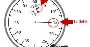 Cara Membaca Stopwatch