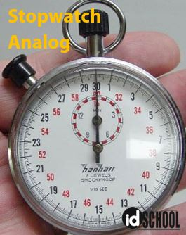 Stopwatch Analog