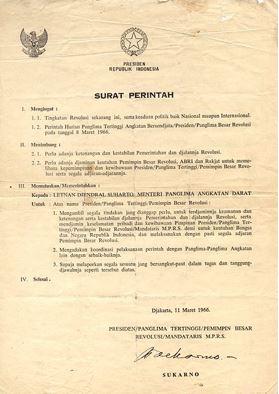 Supersemar (Surat Perintah Sebelas Maret)
