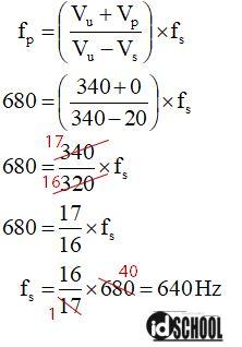 Cara Menghitung Frekuensi yang Didengar Pengamat dengan Persamaan Efek Doppler