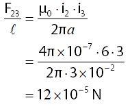 Contoh Cara Menghitung Gaya Lorentz pada Kawat Sejajar Berarus