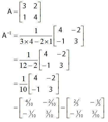 Determinan Matriks Invers Matriks Sifat Sifatnya Idschool