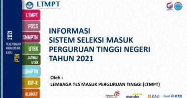 Informasi SNMPTN dan UTBK-SBMPTN Tahun 2021