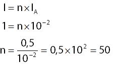 Menghitung Perbandingan Arus yang Diukur dengan Batas Maksimum Amperemeter