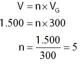 Menghitung Perbandingan Beda Potensial yang Diukur dengan Batas Maksimum Voltmeter