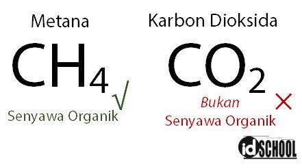 Contoh Senyawa Organik dan Anorganik