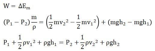 Penurunan Persamaan Bernoulli 2