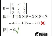 Determinan Matriks 3x3