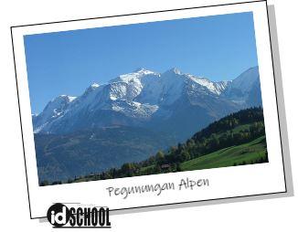 Pegunungan Alpen adalah Contoh Barisan Pegunungan pada Sirkum Mediterania