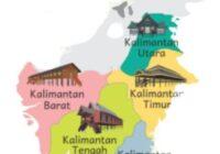 5 Rumah Adat dari Pulau Kalimantan