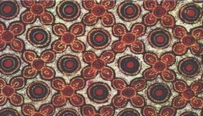 Motif Batik Indonesia Berpola Grompol