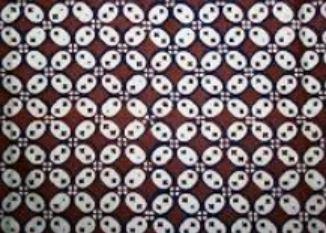Motif Batik Indonesia Berpola Kawung